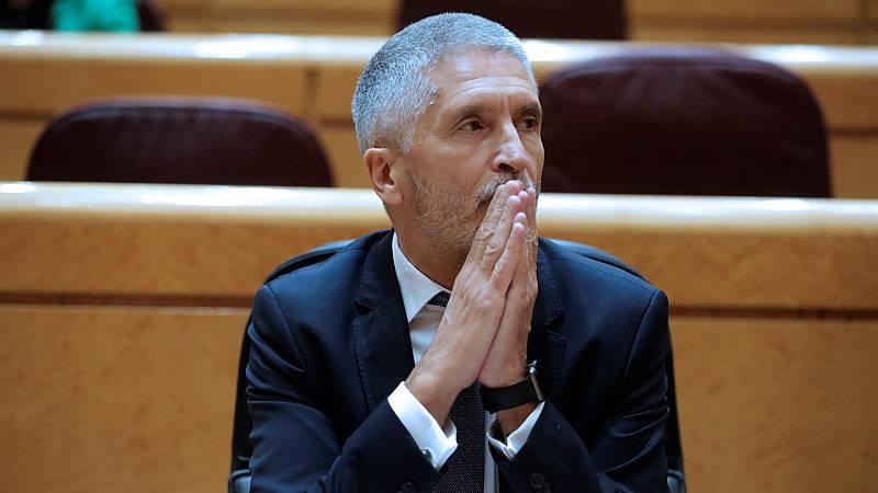 """Marlaska pide al PP dejar de """"patrimonializar"""" a la Policía y a la Guardia Civil ante las acusaciones de """"mentir"""" por el cese de De los Cobos"""