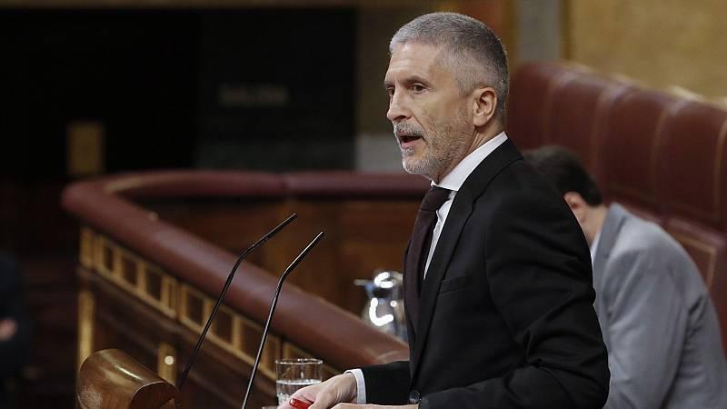 """Vox acusa a Marlaska de iniciar un """"asalto ilegal"""" a la Guardia Civil en su """"afán de dinamitar el estado de derecho"""""""