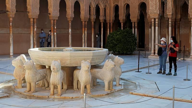 La Alhambra reabre al público tras la pandemia del coronavirus