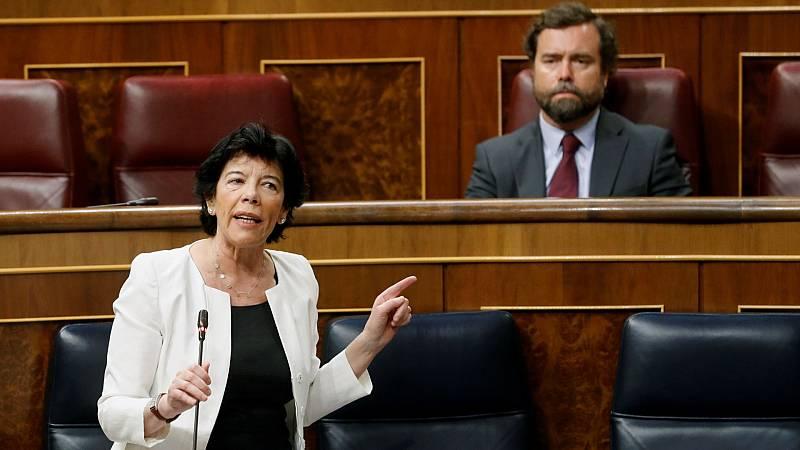 La nueva ley de Educación se debate en el Congreso con las enmiendas a la totalidad de PP, Vox y Cs