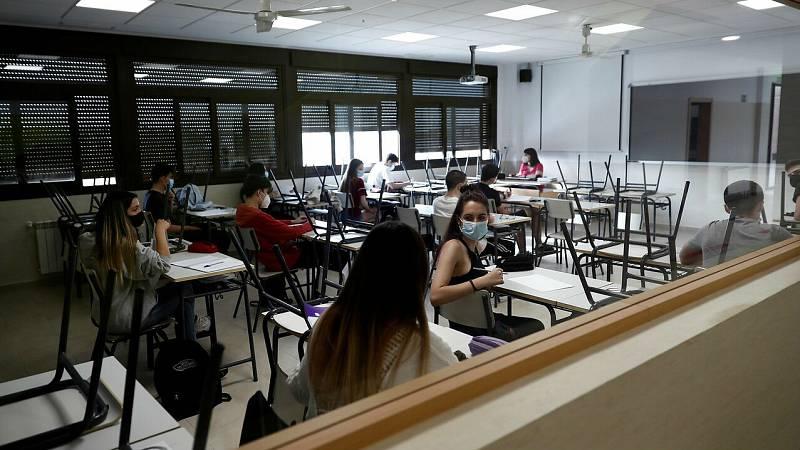 Los estudiantes que se enfrentan a la EvAU