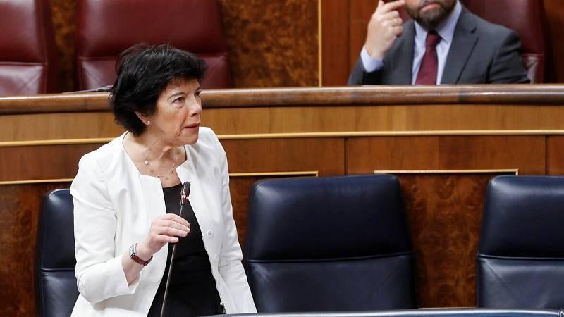 La 'ley Celaá' pasa el primer examen en el Congreso frente al rechazo de PP, Vox y Cs