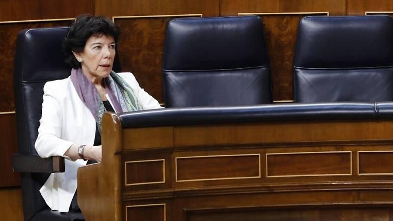La 'ley Celaá' supera el primer examen en el Congreso frente la opisición de PP, Vox y Cs