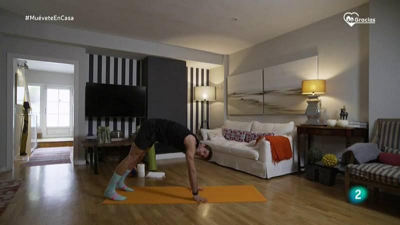Muévete en casa - Estiramientos para calentar todo el cuerpo