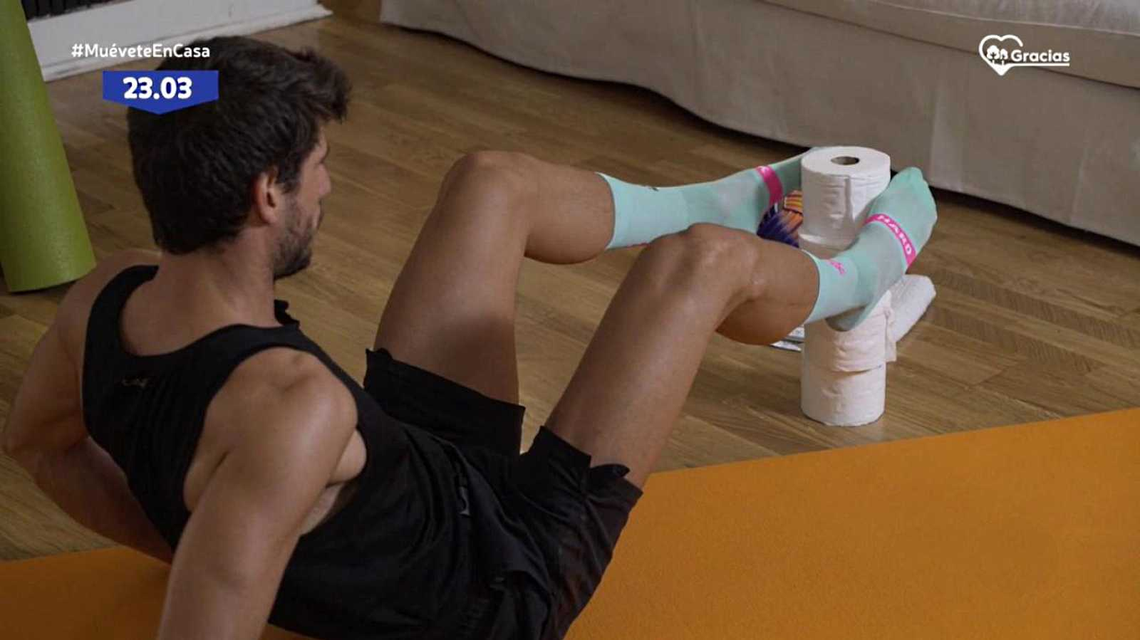 Muévete en casa - Programa 64 (Abdomen y flexibilidad) - ver ahora