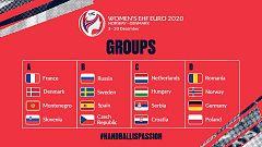 Así han quedado emparejados los grupos del Europeo de balonmano femenino 2020