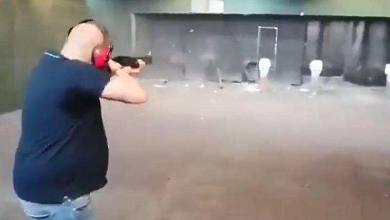 La Abogacía del Estado denunciará ante la Fiscalía un vídeo en el que un hombre dispara a fotos de Sánchez e Iglesias