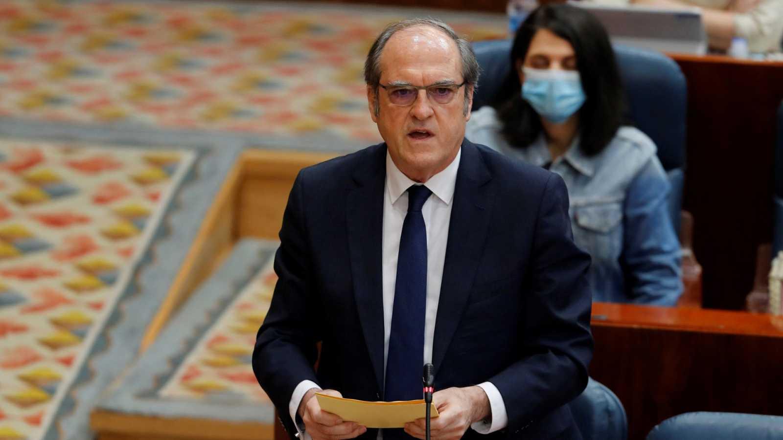 """Gabilondo cree que el Gobierno de Ayuso es """"fallido y censurable"""" pero aclara: """"No estamos en eso ahora"""""""