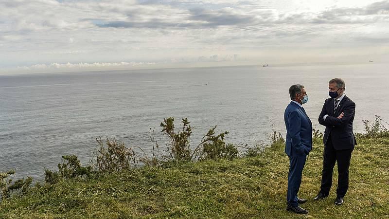 Revilla y Urkullu inauguran la nueva normalidad entre Cantabria y País Vasco