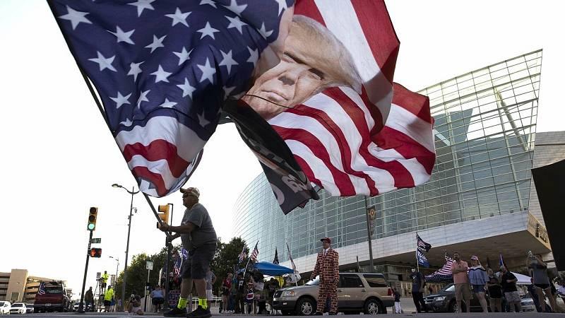 Trump retoma la campaña electoral en Oklahoma tras la pandemia