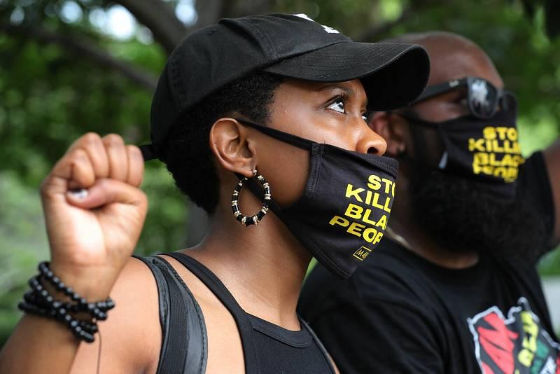 Estados Unidos celebra el día de la abolición de la esclavitud en un momento marcado por la tensión racial