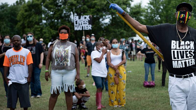 Las manifestaciones del movimiento 'Black Lives Matter' en EE.UU. transforman 'Juneteenth' en día de protesta