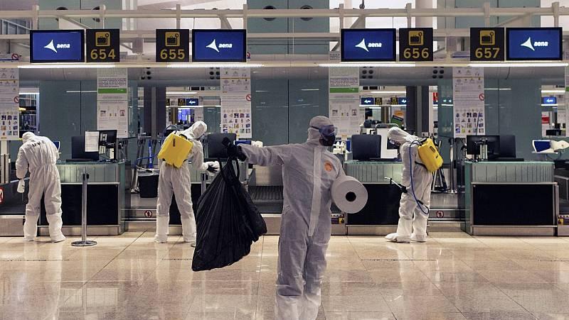 Los viajeros que lleguen a España tendrán que pasar tres controles básicos de salud en los aeropuertos