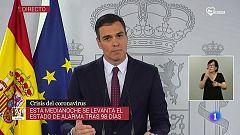"""Sánchez: """"El virus puede volver y puede sacudirnos de nuevo en una segunda ola"""""""