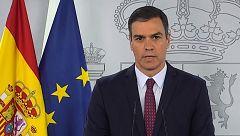 """Sánchez pide """"levantar"""" España desde """"la unidad"""" y """"sin dejar a nadie atrás"""""""