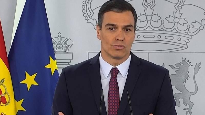 """Sánchez asegura que buscará """"un respaldo activo"""" de las fuerzas políticas: """"España debe entenderse con España"""""""
