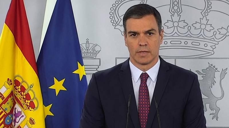 Especial informativo - Comparecencia del presidente del gobierno, Pedro Sánchez - 20/06/20 - ver ahora