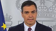 Declaración institucional de Pedro Sánchez con motivo del final del estado de alarma