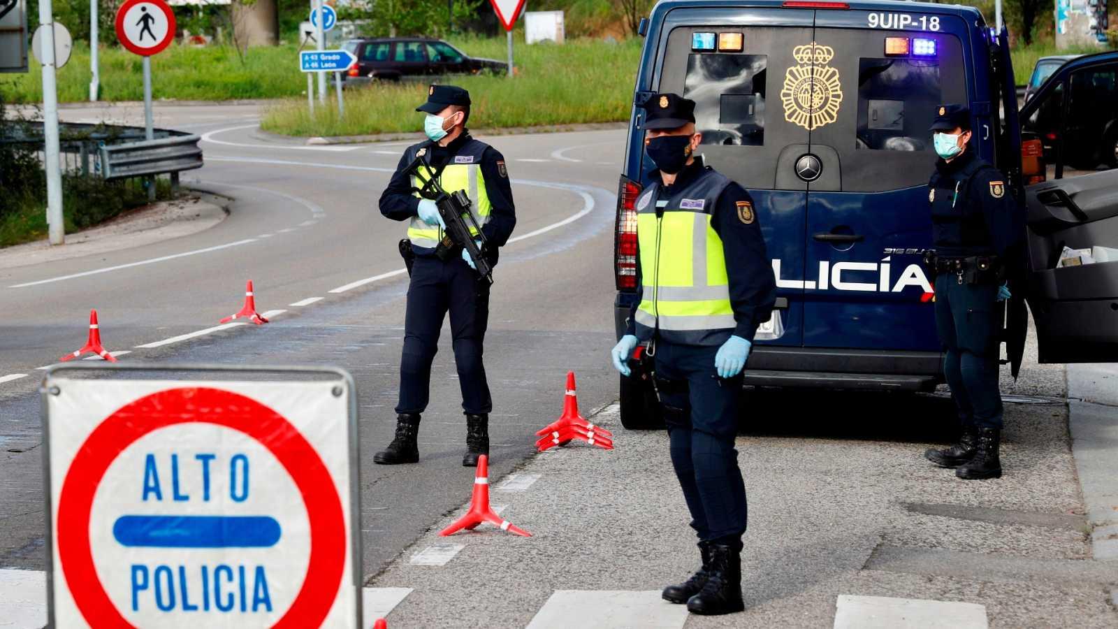 Más de 9.000 detenidos por incumplir el confinamiento durante el estado de alarma