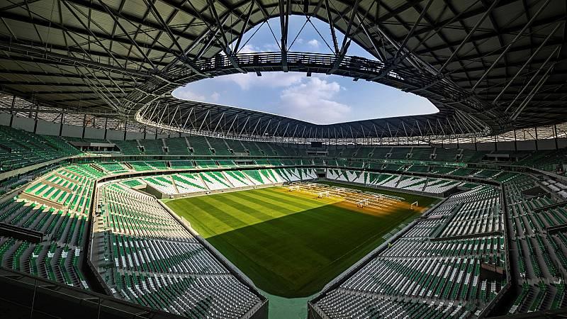 Catar concluye su tercer estadio para el Mundial de Fútbol de 2022