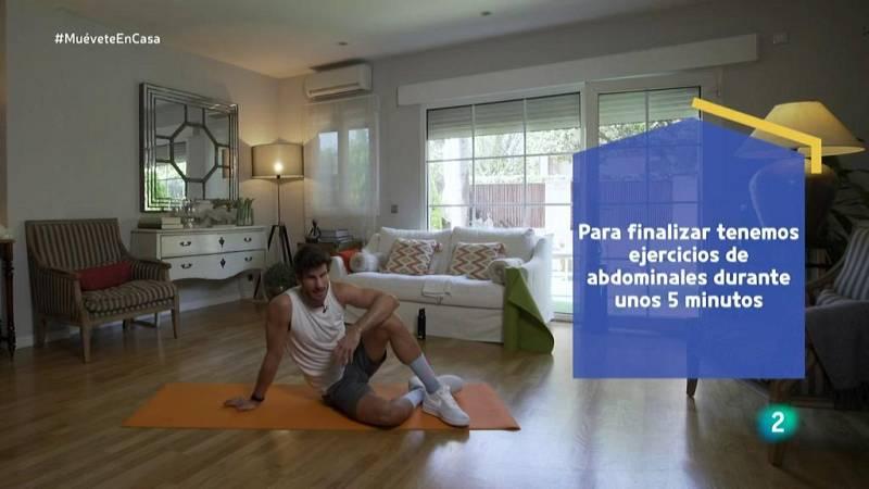 Muévete en casa - Trabajo analítico de abdomen