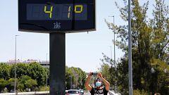 Alerta naranja en el valle del Guadalquivir por altas temperaturas