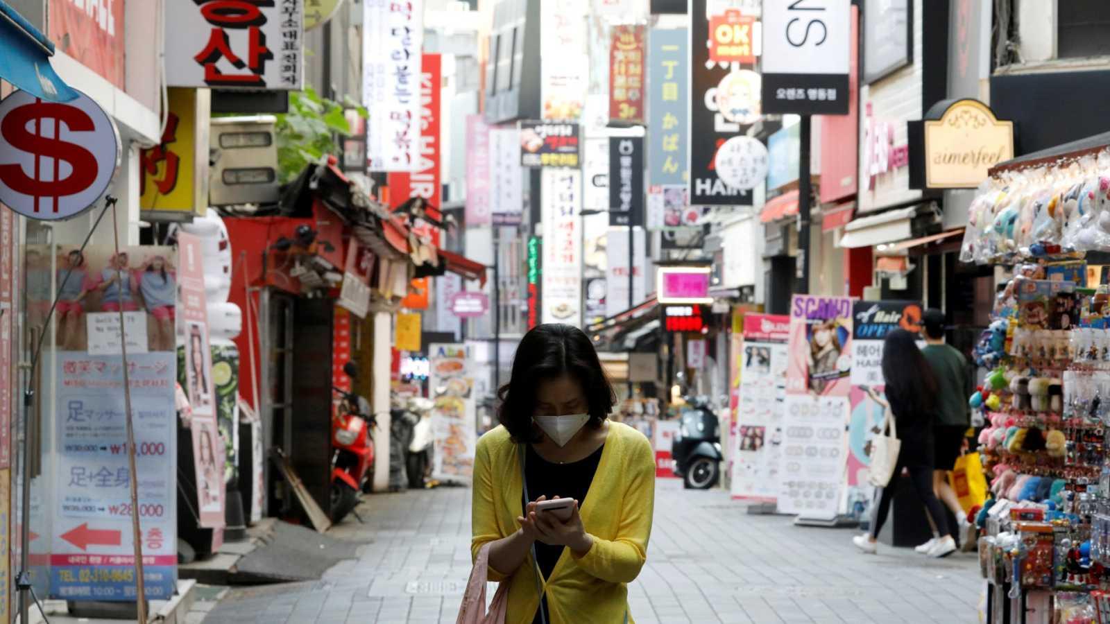 Segunda ola del virus en Corea del Sur: 17 casos en 24 horas