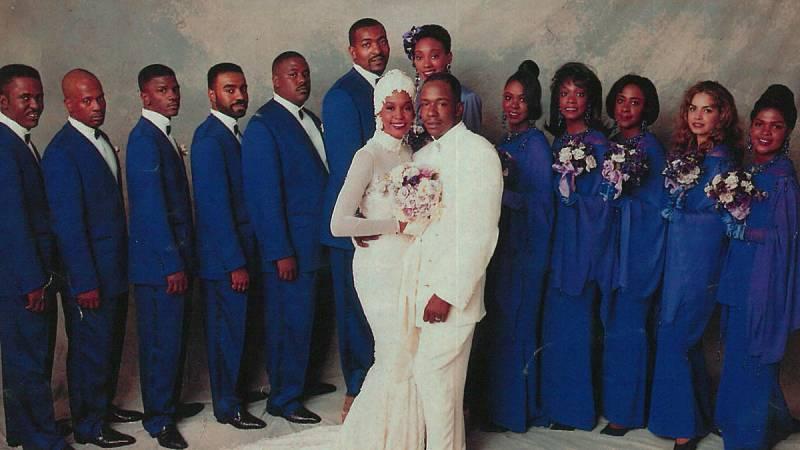 La boda de Whitney Houston y el rapero Bobby Brown