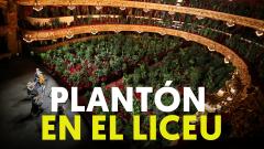 Un vergel se planta en el Liceu para escuchar un concierto de Puccini