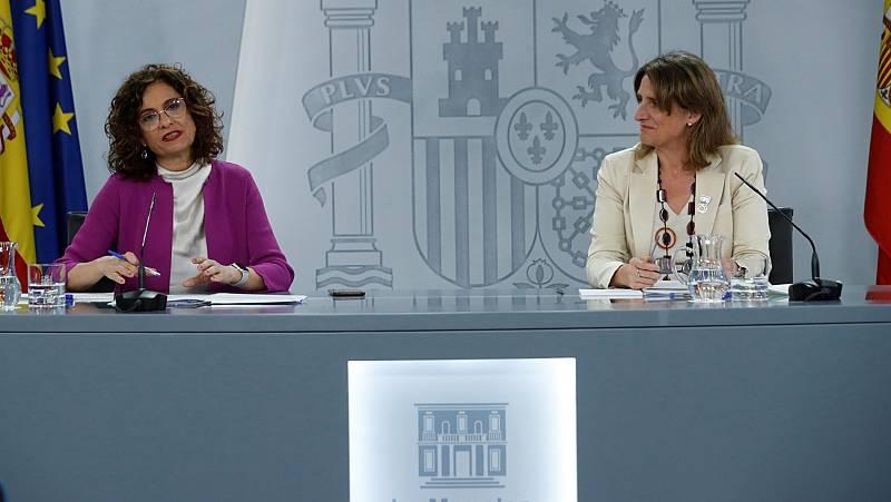 """María Jesús Montero: """"El Gobierno no está estudiando, ni en el corto ni en el medio plazo, volver a decretar el estado de alarma"""""""