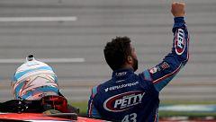 Bubba Wallace recibe apoyo de sus compañeros tras el incidente racista en la NASCAR