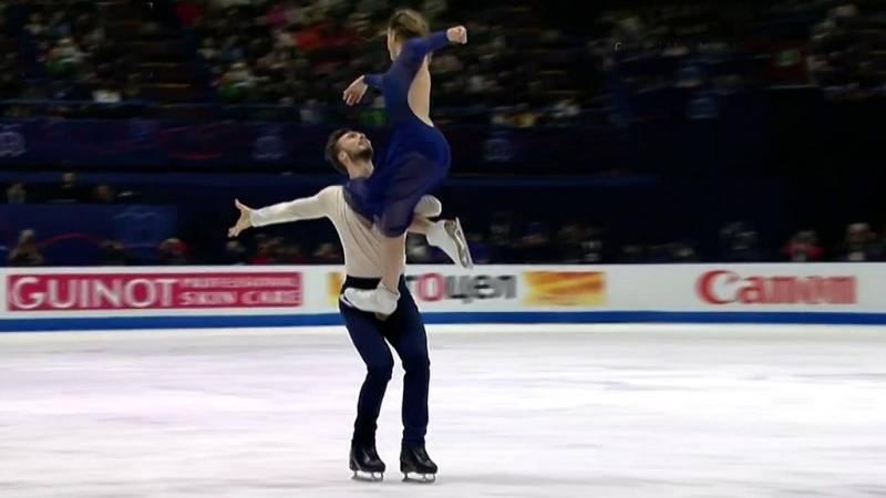 Patinaje artístico - Campeonato del mundo 2018. Programa libre danza - ver ahora