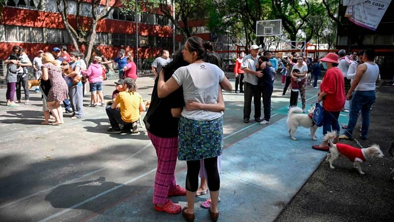Un terremoto de magnitud 7,5 deja al menos un muerto en el sur de México