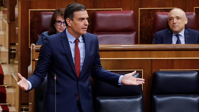 """Sánchez insta a Casado a retirar el informe """"ignominioso"""" contra la democracia española presentado en la CE"""