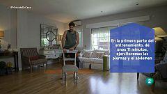 Muévete en casa - Pistols, sentadillas, lunges y crunches
