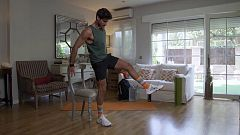 Muévete en casa - Programa 68 (Piernas y abdomen)