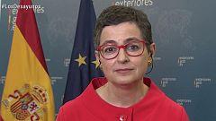 Los desayunos de TVE - Arancha González Laya, ministra de Asuntos Exteriores, Unión Europea y Cooperación