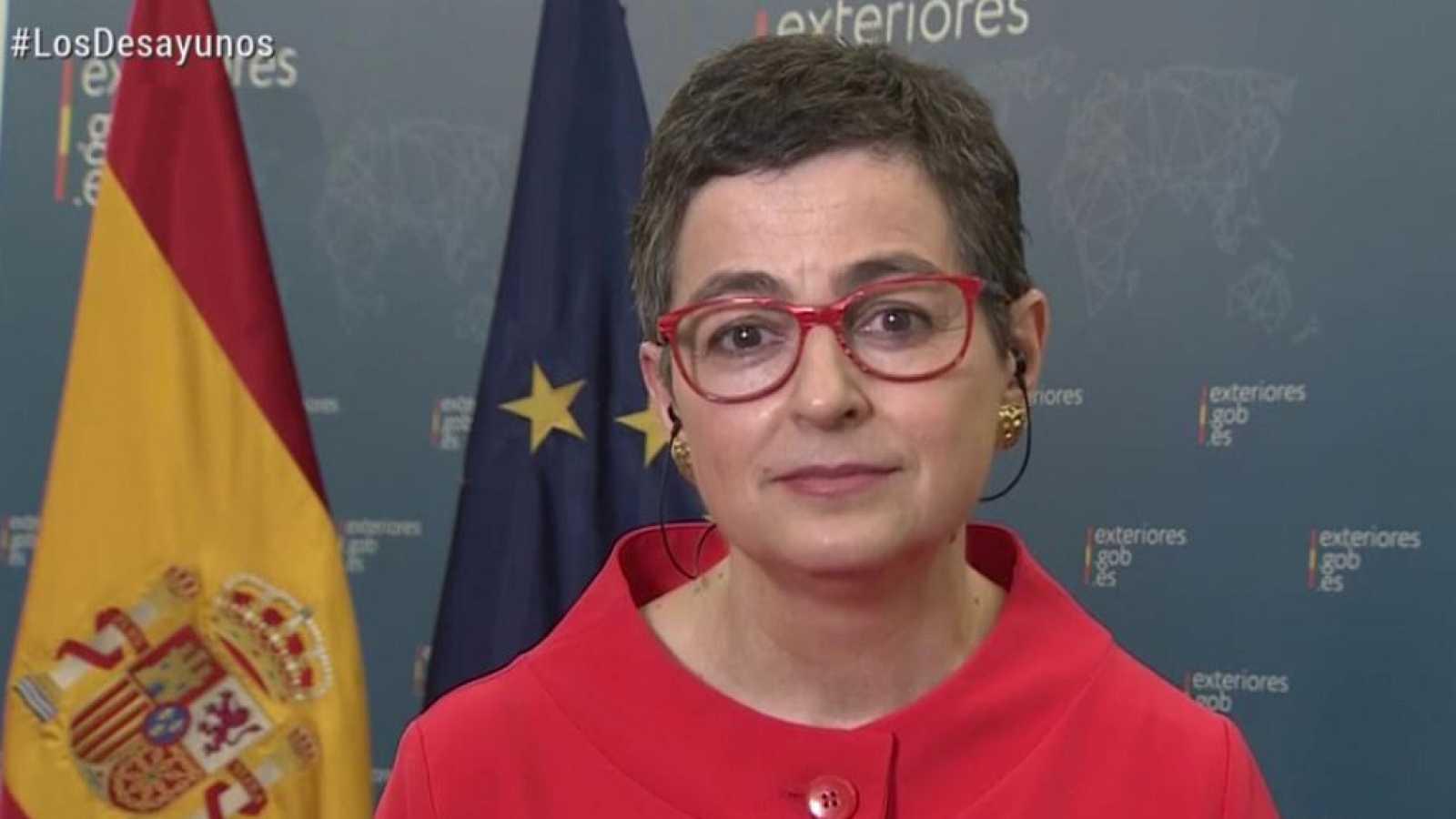 Los desayunos de TVE - Arancha González Laya, ministra de Asuntos Exteriores, Unión Europea y Cooperación - ver ahora