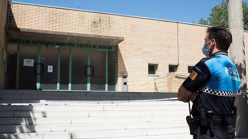 """Aragón considera """"controlado"""" el brote de coronavirus detectado en cuatro comarcas de Huesca"""