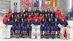 Frank González destaca la importancia de celebrar el Mundial de hockey hielo de Jaca 2021