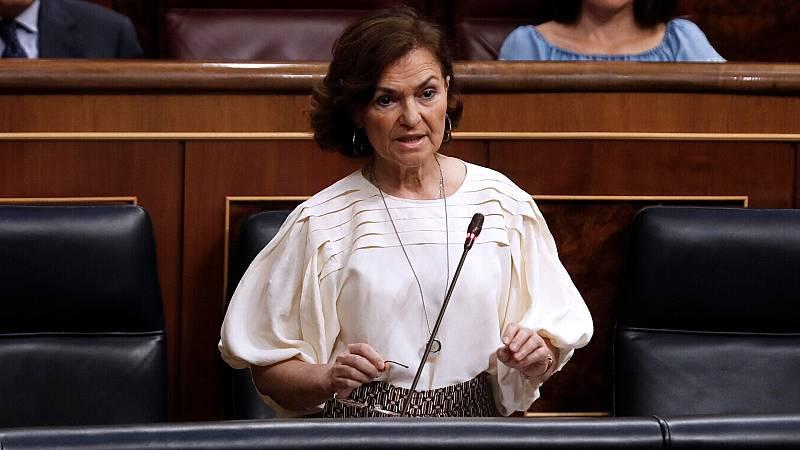 El Gobierno y el PP cruzan reproches en el Congreso mientras negocian en privado el decreto de la nueva normalidad