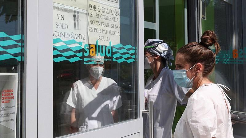 Los contagios en Aragón por los brotes suben, y se investigan otros en Navarra, Valencia y Málaga