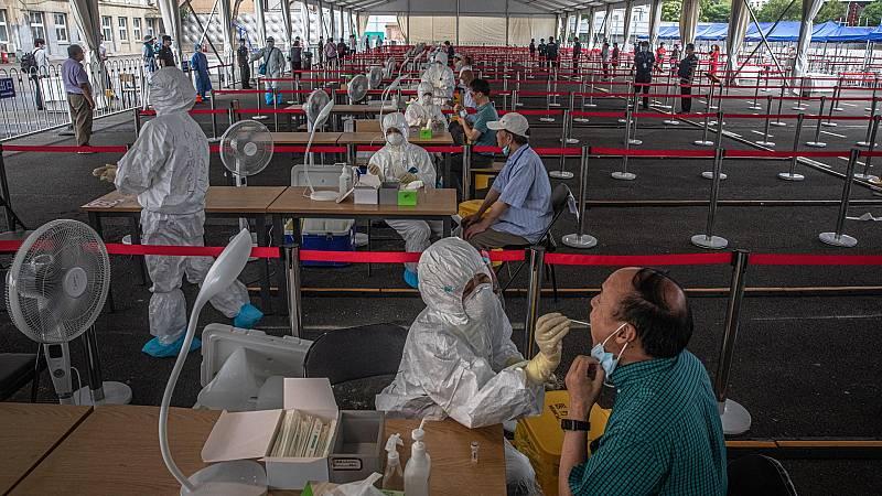 Test masivos en Pekín tras el nuevo brote