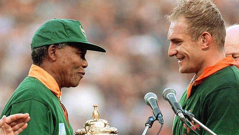 Se cumplen 25 años del histórico triunfo de Sudafrica en el Mundial de Rugby de 1995