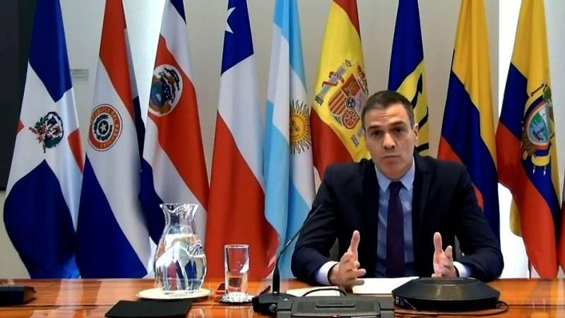 """Sánchez : """"No podemos dejarnos llevar por la desesperanza ni paralizarnos por la incertidumbre. Tenemos que actuar juntos"""""""