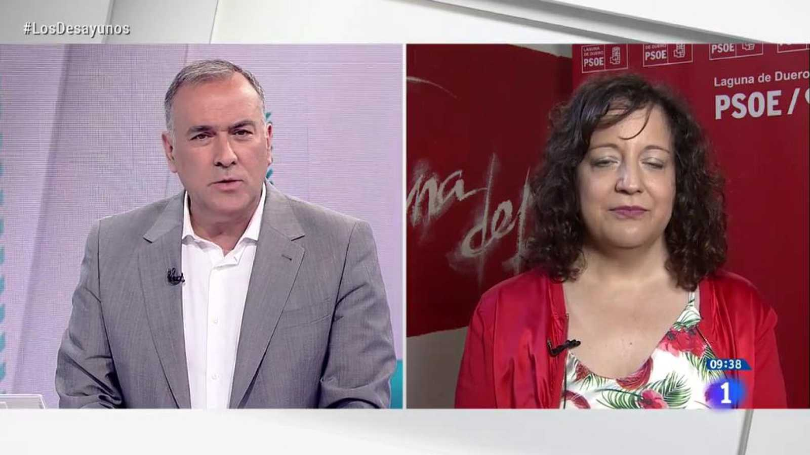 """Iratxe García, presidenta de los socialistas europeos: """"Los controles en los aeropuertos españoles son como los de la UE"""""""