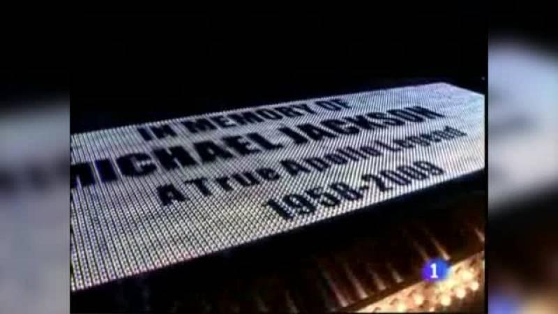 Muerte de Michael Jackson, así lo contó el Telediario