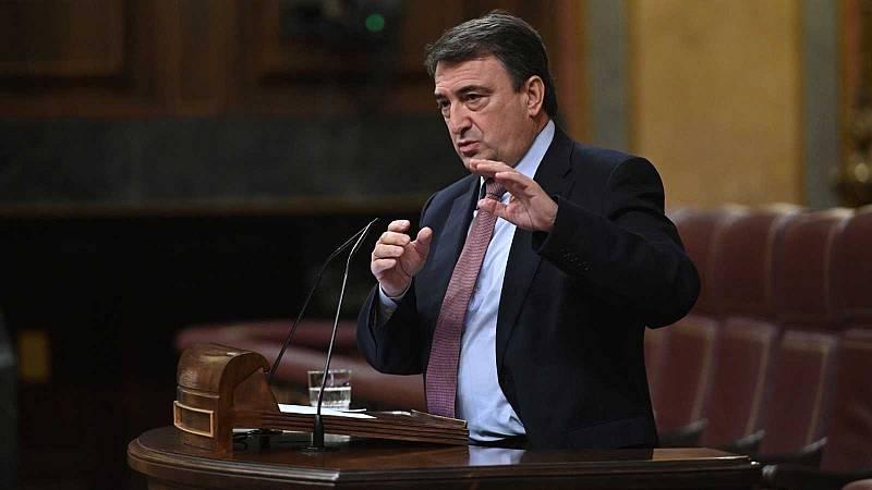 """Aitor Esteban: """"No he aceptado ni aceptaré ninguna merma de las competencias de Euskadi"""""""