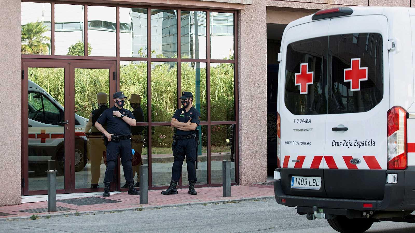 Un rebrote en un centro de Cruz Roja de Málaga deja al menos 80 positivos