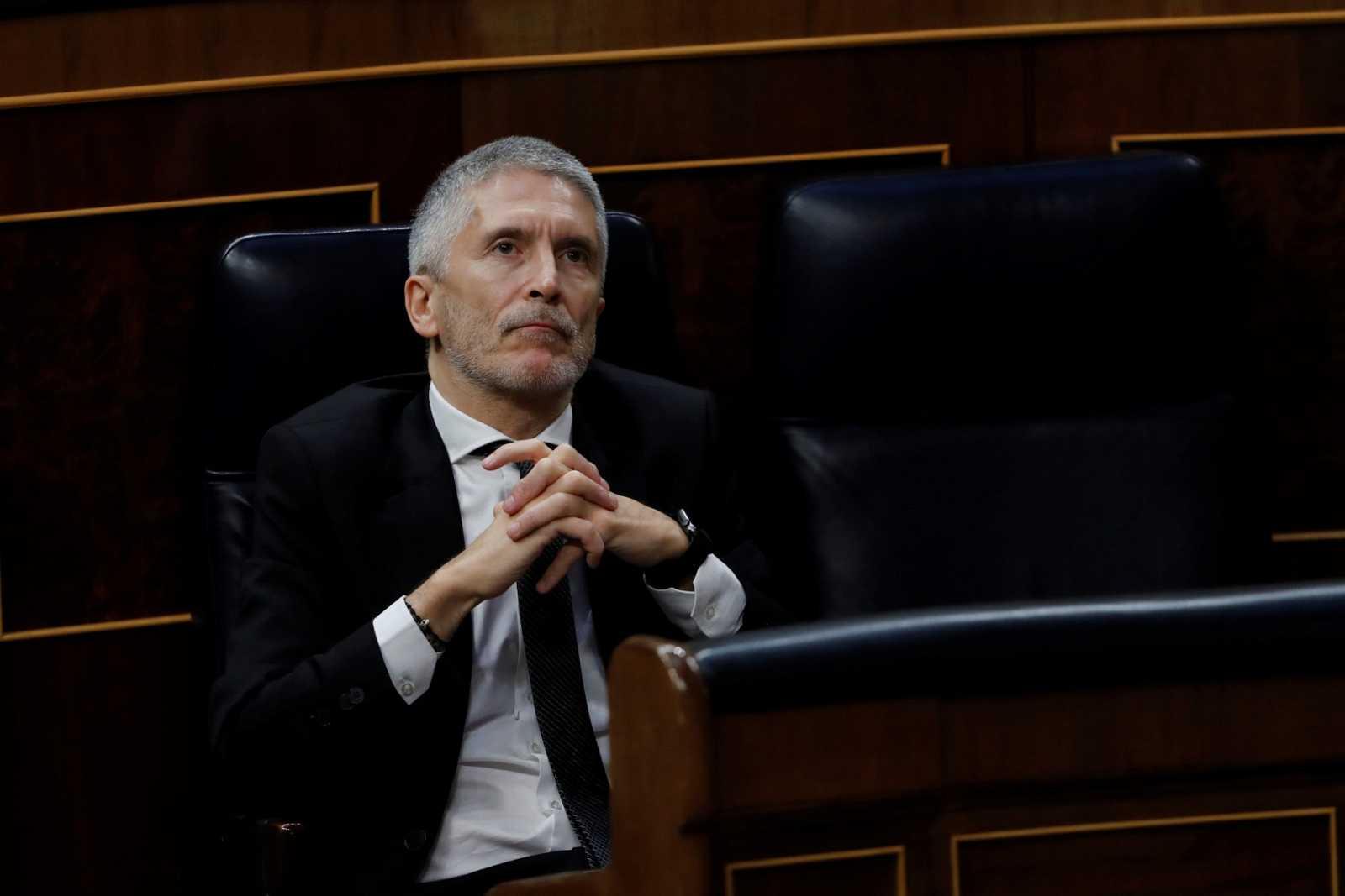 El Congreso rechaza reprobar a Marlaska tras la polémica por el cese de Pérez de los Cobos